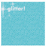 Doodlebug Designs - Sugar Coated Cardstock - 12x12 Spot Glittered Cardstock - Swimming Pool Daydream, CLEARANCE