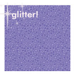 Doodlebug Designs - Sugar Coated Cardstock - 12x12 Spot Glittered Cardstock - Lilac Daydream, CLEARANCE