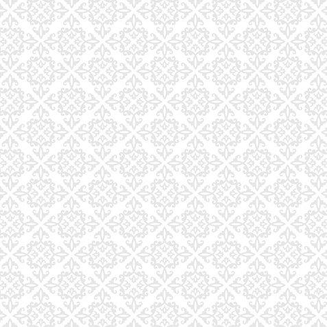 Doodlebug Design - 12x12 Crushed Velvet Cardstock - Spot Flocked - Lily White Chenille, CLEARANCE
