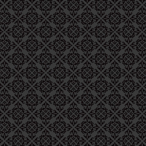 Doodlebug Design - 12x12 Crushed Velvet Cardstock - Spot Flocked - Beetle Black Chenille