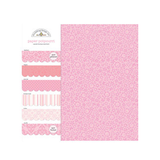 Doodlebug Design - Potpourri - 6 x 6 Paper Assortment - Cupcake, CLEARANCE