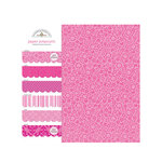Doodlebug Design - Potpourri - 6 x 6 Paper Assortment - Bubblegum, CLEARANCE