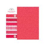 Doodlebug Design - Potpourri - 6 x 6 Paper Assortment - Ladybug, CLEARANCE