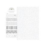 Doodlebug Design - Potpourri - 6 x 6 Paper Assortment - Lily White, CLEARANCE