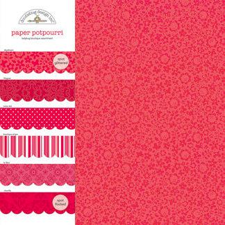 Doodlebug Design - Potpourri - 12 x 12 Paper Assortment - Ladybug