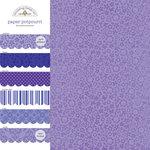Doodlebug Design - Potpourri - 12 x 12 Paper Assortment - Lilac