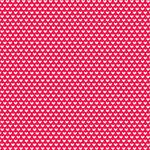 Doodlebug Design - True Love Collection - Valentines - 12 x 12 Glitter Paper - Cinnamon Hearts