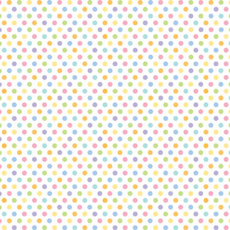 Doodlebug Design - Bunny Hop Collection - Easter - 12 x 12 Glitter Paper - Sweet Spots