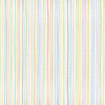 Doodlebug Design - Bunny Hop Collection - Easter - 12 x 12 Accent Paper - Pinwheel Stripe