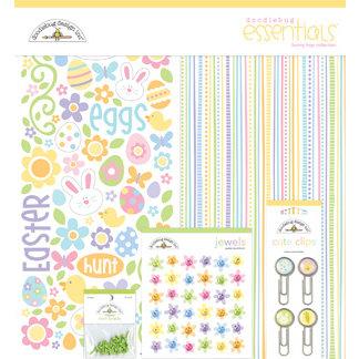 Doodlebug Design - Bunny Hop Collection - Easter - Essentials Kit