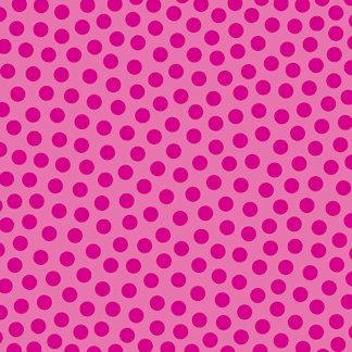 Doodlebug Design - La Di Dots - 12 x 12 Velvet Flocked Paper - Bubblegum, CLEARANCE