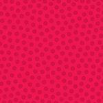 Doodlebug Design - La Di Dots - 12 x 12 Velvet Flocked Paper - Ladybug, CLEARANCE