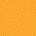 Doodlebug Design - La Di Dots - 12 x 12 Velvet Flocked Paper - Tangerine