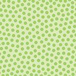 Doodlebug Design - La Di Dots - 12 x 12 Velvet Flocked Paper - Limeade, CLEARANCE