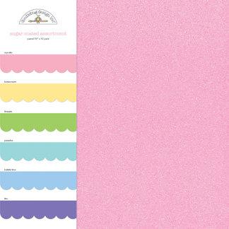 Doodlebug Design - Sugar Coated - 12 x 12 Paper Assortment - Pastel