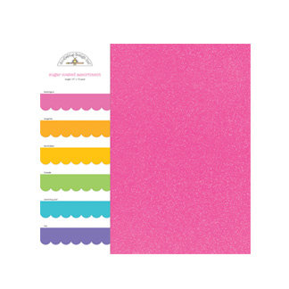 Doodlebug Design - Sugar Coated - 6 x 6 Paper Assortment - Bright, CLEARANCE