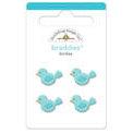 Doodlebug Design - Zoofari Collection - Brads - Birdies Braddies, CLEARANCE