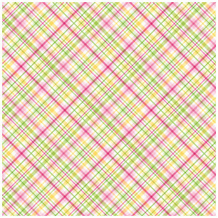 Doodlebug Design - Strawberry Parfait Collection - 12 x 12 Accent Paper - Pink Lemonade