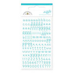 Doodlebug Design - Candy Shoppe Collection - Mini Alphabet Rub Ons - Swimming Pool, CLEARANCE