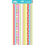 Doodlebug Design - Tutti Fruitti Collection - Sugar Coated Cardstock Stickers - Fancy Frills, CLEARANCE