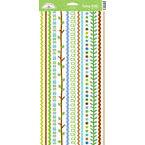 Doodlebug Design - Keylime Collection - Cardstock Stickers - Fancy Frills