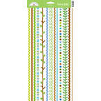 Doodlebug Design - Keylime Collection - Cardstock Stickers - Fancy Frills