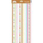 Doodlebug Design - Sweet Treats Collection - Sugar Coated Cardstock Stickers - Fancy Frills