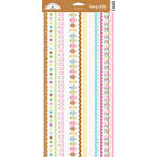 Doodlebug Design - Sweet Treats Collection - Sugar Coated Cardstock Stickers - Fancy Frills