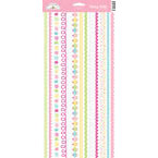 Doodlebug Design - Confections Collection - Sugar Coated Cardstock Stickers - Fancy Frills