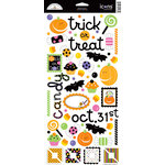 Doodlebug Design - Trick or Treat Collection - Halloween - Sugar Coated Cardstock Stickers - Icons