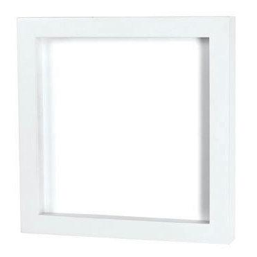 Doodlebug Design - Fashion Furnishings Collection - 12 x 12 Shadow Box - White