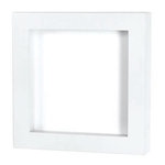 Doodlebug Design - Fashion Furnishings Collection - 8 x 8 Shadow Box - White