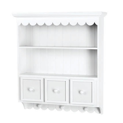 Doodlebug Design - Fashion Furnishings Collection - Collectable Cupboard - White