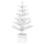 Doodlebug Design - Plain and Simple Collection - Holiday Tree - White