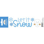 Doodlebug Design - Headlines Collection - Cardstock Stickers - Let It Snow