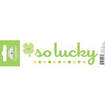 Doodlebug Design - Headlines Collection - Cardstock Stickers - Lucky
