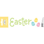 Doodlebug Design - Headlines Collection - Cardstock Stickers - Easter