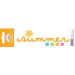 Doodlebug Design - Headlines Collection - Cardstock Stickers - Summer Time