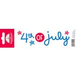 Doodlebug Design - Headlines Collection - Cardstock Stickers - Fourth of July