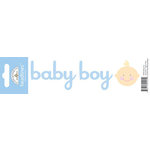 Doodlebug Design - Headlines Collection - Cardstock Stickers - Baby Boy