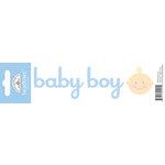 Doodlebug Design - Headlines Collection - Cardstock Stickers - Baby Boy