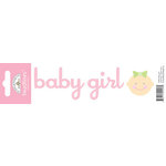 Doodlebug Design - Headlines Collection - Cardstock Stickers - Baby Girl