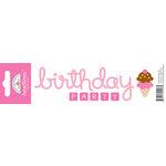 Doodlebug Design - Headlines Collection - Cardstock Stickers - Birthday Girl