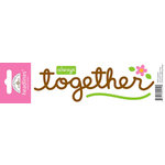 Doodlebug Design - Headlines Collection - Cardstock Stickers - Together