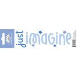 Doodlebug Design - Headlines Collection - Cardstock Stickers - Imagine