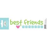 Doodlebug Design - Headlines Collection - Cardstock Stickers - Best Friends
