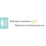 Doodlebug Design - Expressions Collection - Rub Ons - Precious