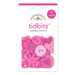Doodlebug Design - Tidbits Embellishment Packs - Bubblegum Assortment, CLEARANCE
