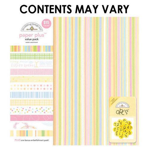 Doodlebug Design - Paper Plus Value Pack - Easter Assortment