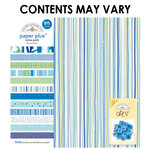 Doodlebug Design - Paper Plus Value Pack - Boys Assortment